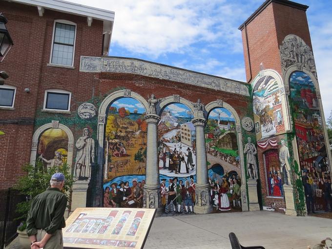 mill mural