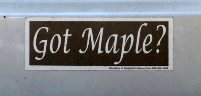 got maple?
