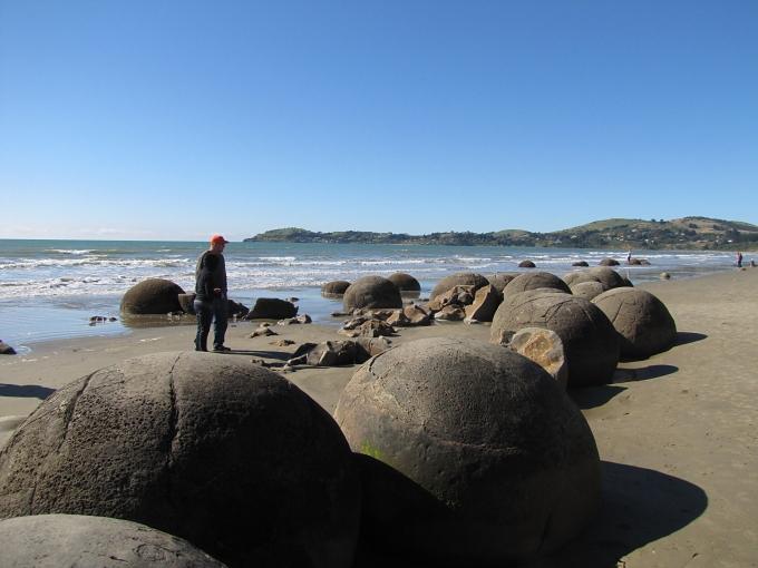 moareaki boulders