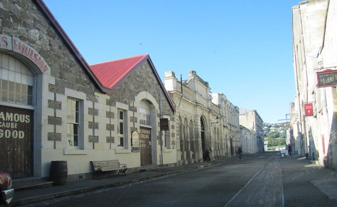 oamaru historic limestone buildings