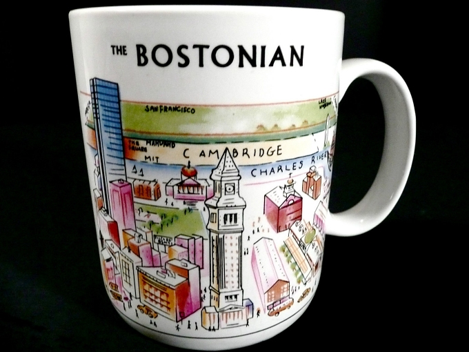 bostonian view of the world