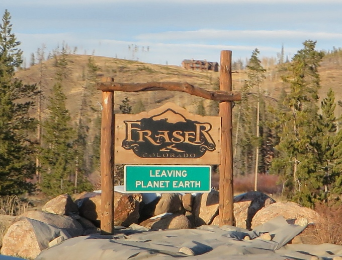 fraser colorado leaving planet earth
