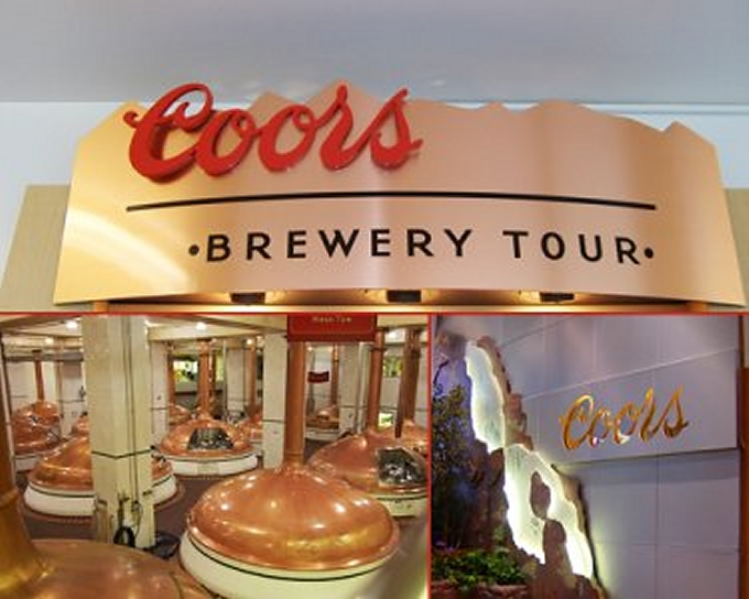 coors brewery tour
