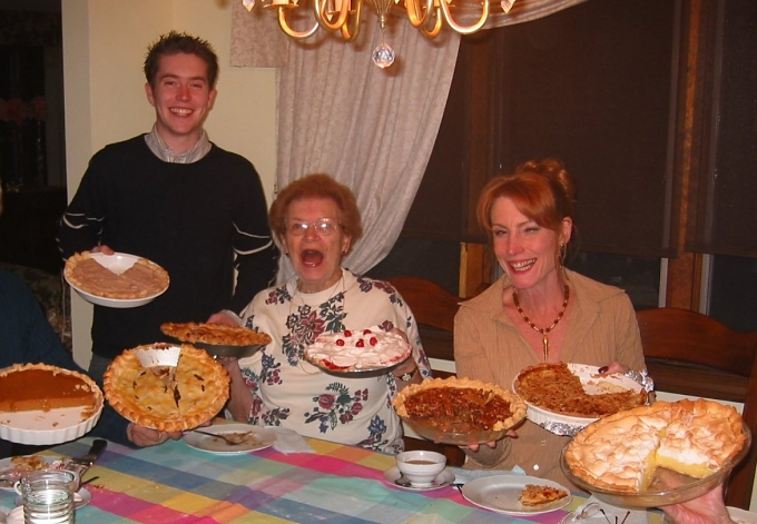 pies on thanksgiving