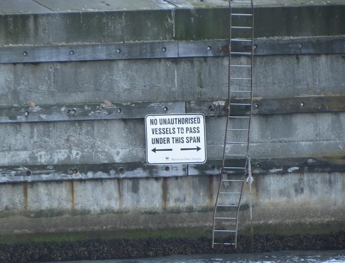 sign ashore