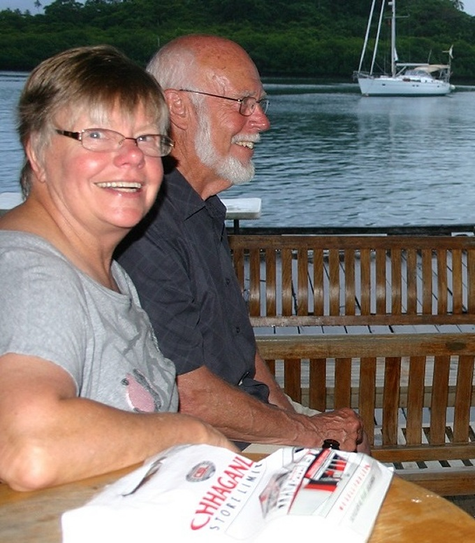 pauline and denys in fiji
