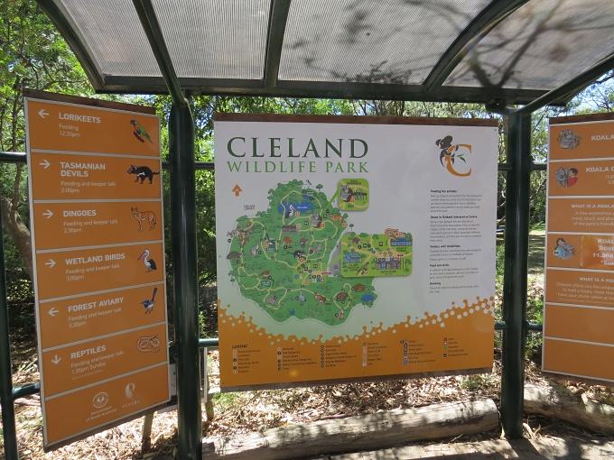 cleland park map