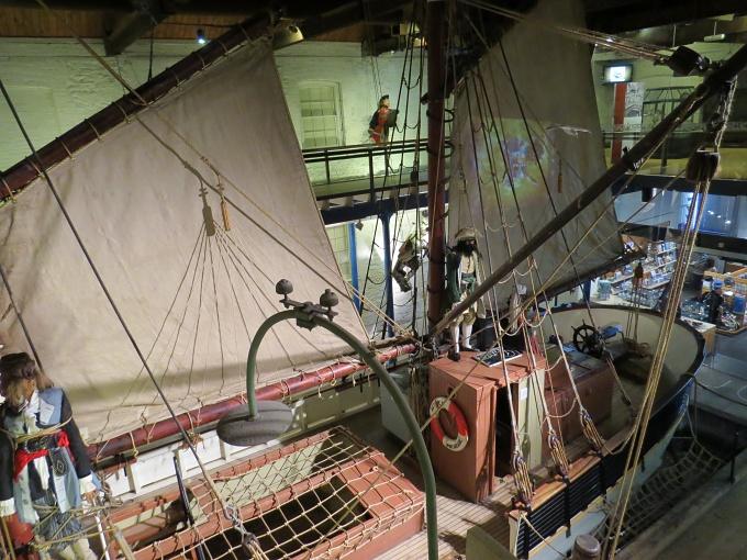 maritime museum ketch