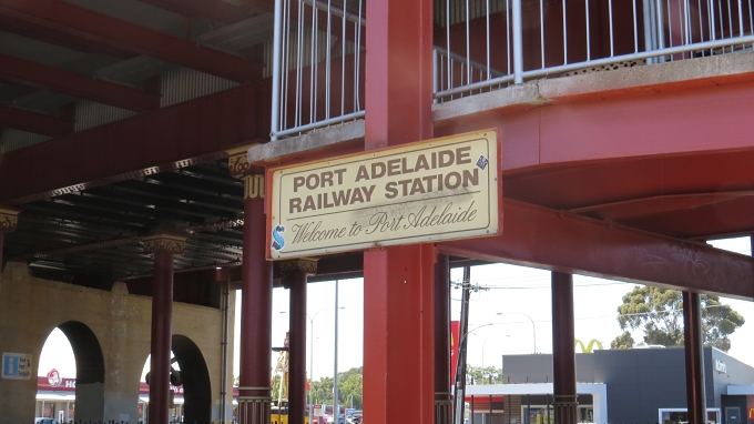 port adelaide train station
