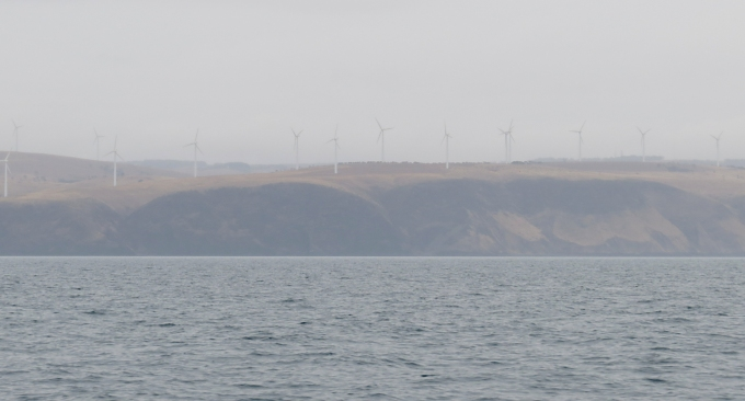 wind farm on salt creek hill