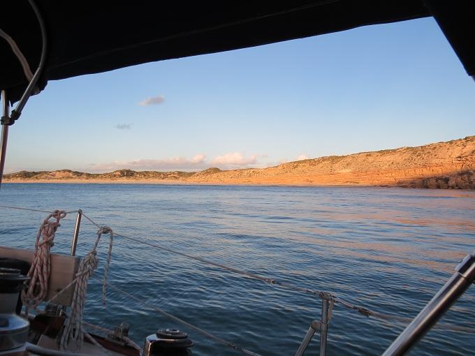 sanstone cliffs