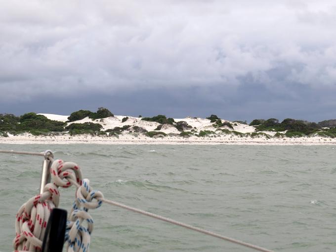 dunes ashore