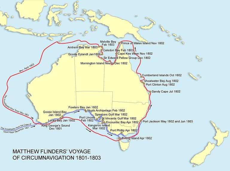 flinders voyage