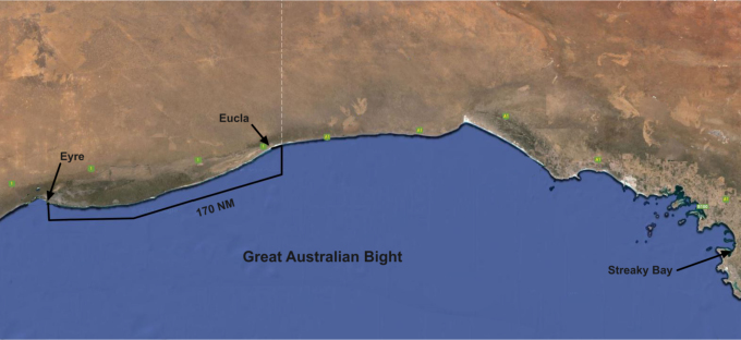 eucla to eyre