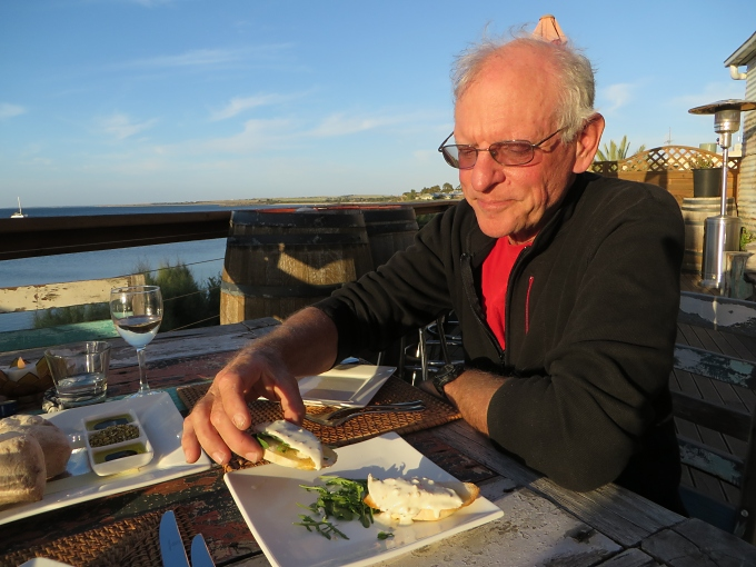 david eats king george whiting