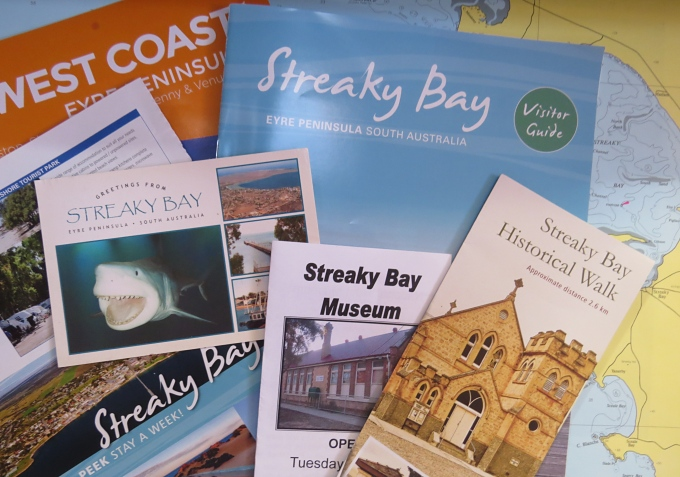 streaky bay brochures