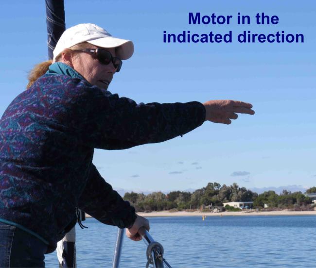 motor forward