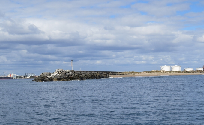 end of long breakwater