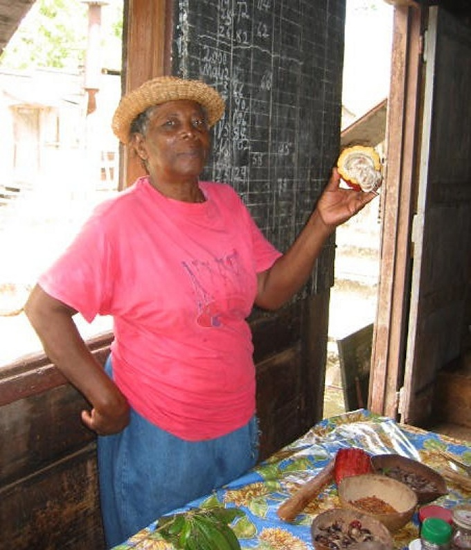 spice lady in grenada