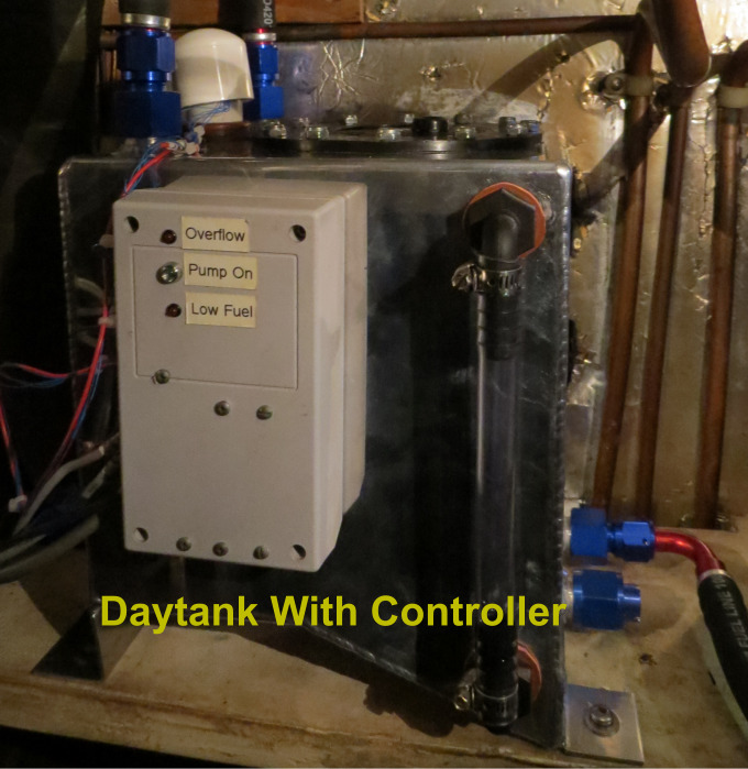 daytank with controller