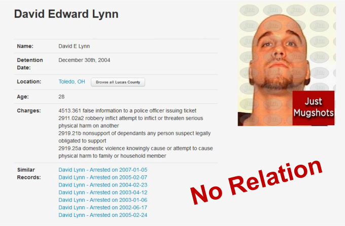 david edward lynn mugshot