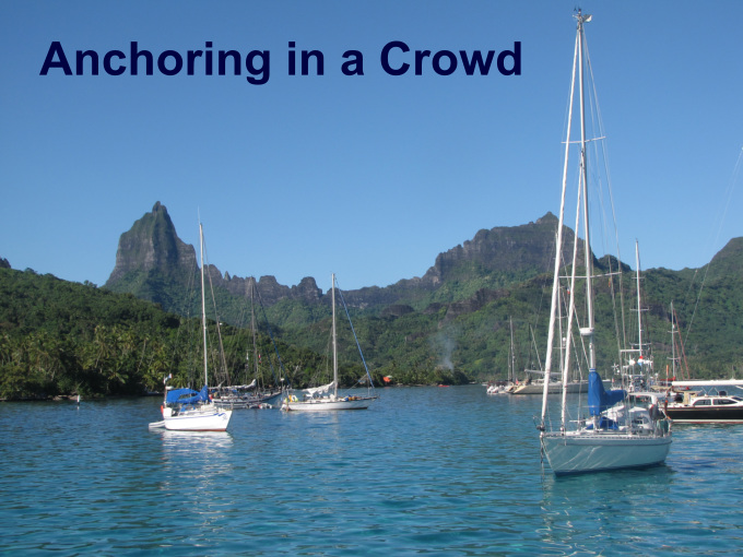 anchoring in a crowd