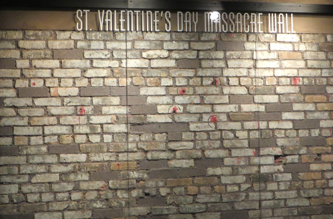 st valentine's massacre wall