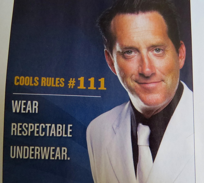 wear respectable underwear