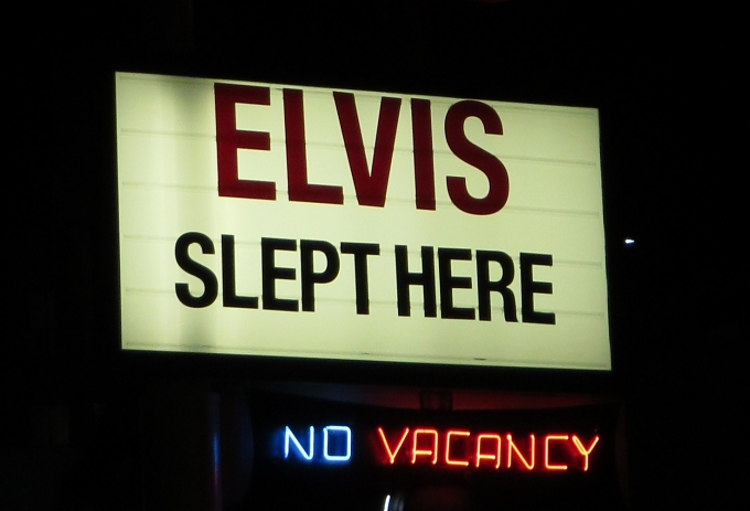 elvis slept here