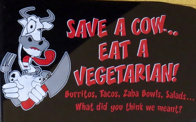save a cow eat a vegetarian
