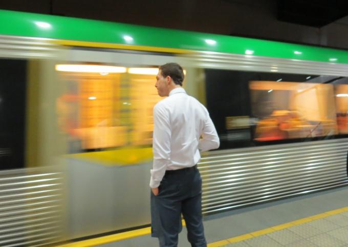 trans perth train
