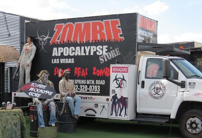 zombie apocolypse store