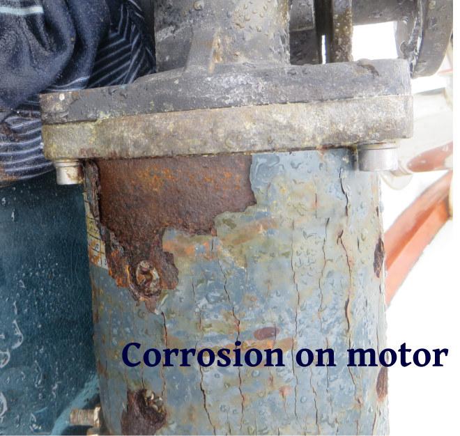 motor corrosion