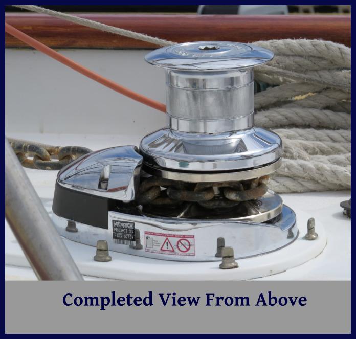 installed windlass