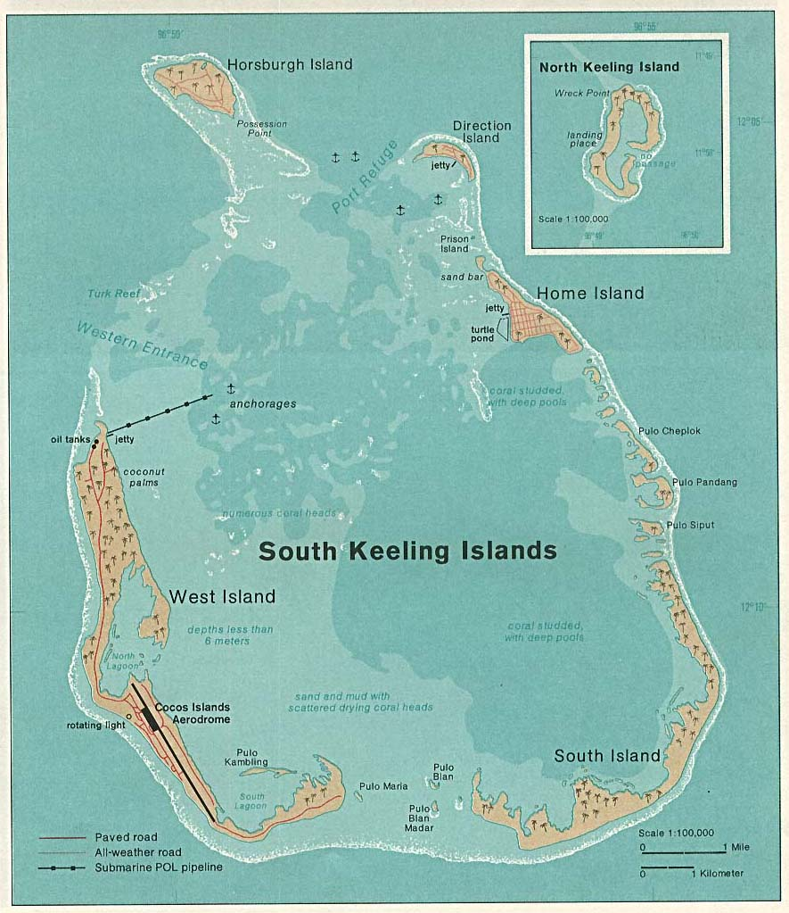 cocos keeling map