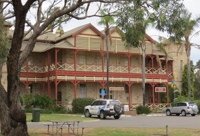 old victoria hospiatal now visitors center