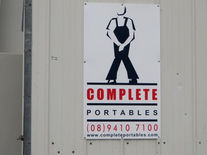 portaloo sign