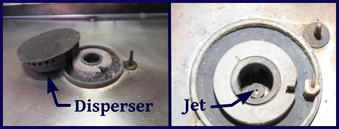 disperser and jet