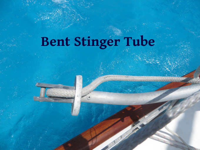 bent stinger tube