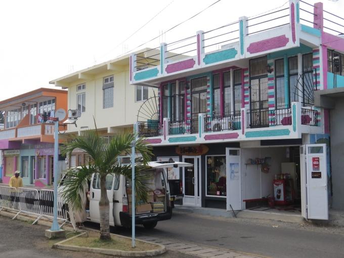 street outside port gate