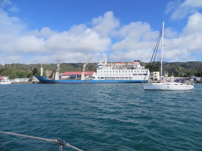 maritius trochetia at dock