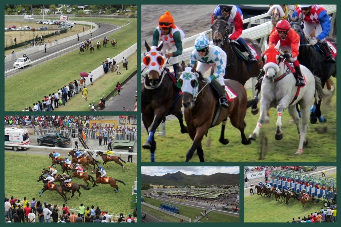 racing collage