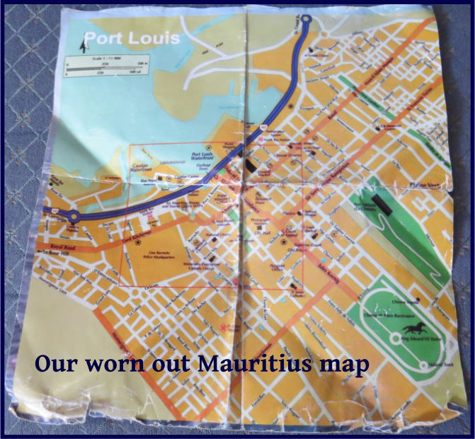 worn out map