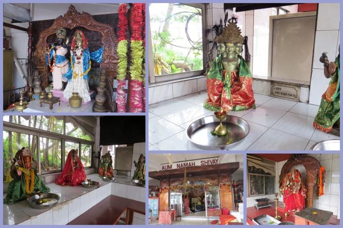 shrines inside temple