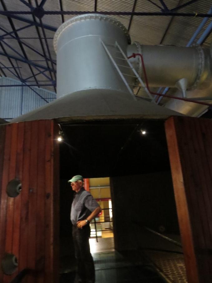 inside vacuum vat