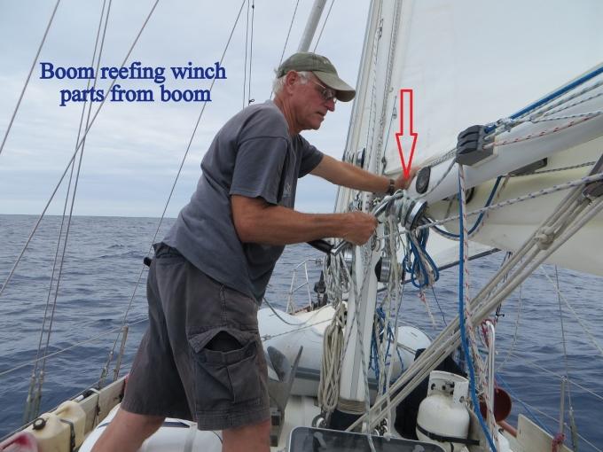 boom reefing winch