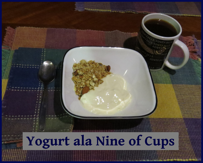 yogurt ala nine of cups