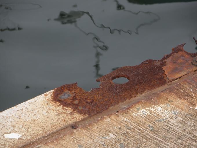 rusty piers