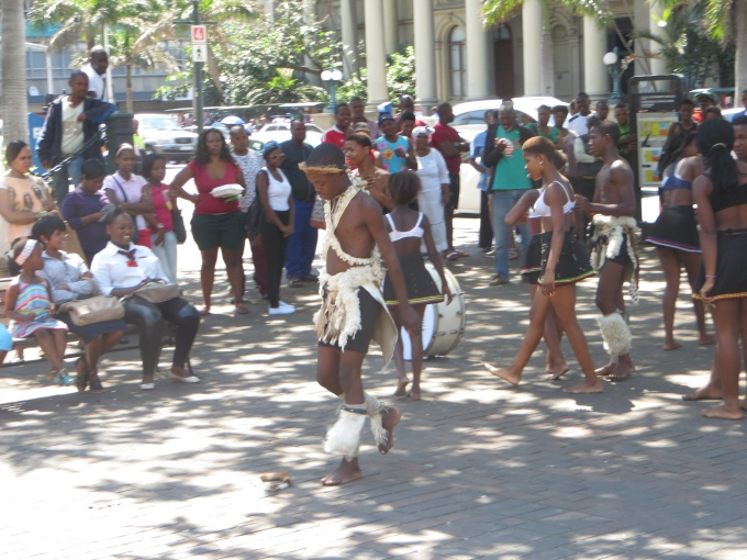 zulu street dancers durban south africa