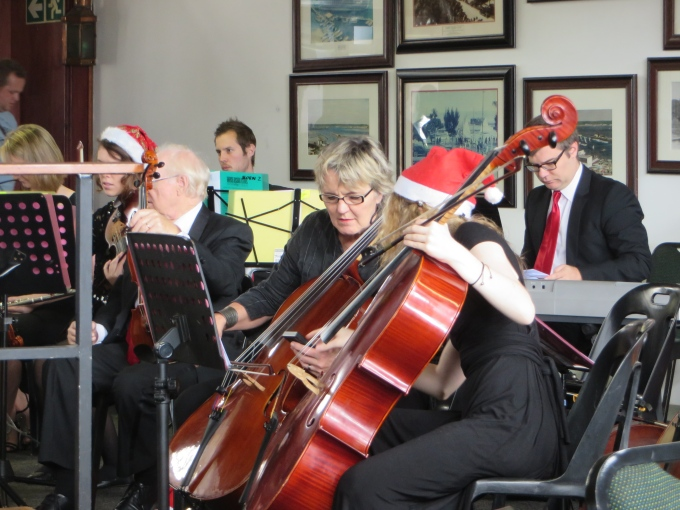 playing all the christmas standards in durban south africa